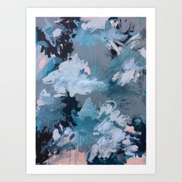 All in the Clouds Art Print