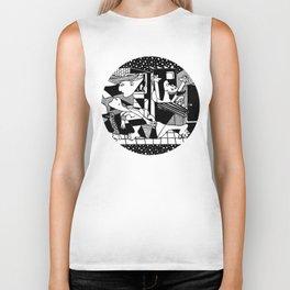 Guernica. Picasso Biker Tank