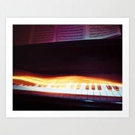 Rhythm of Fire Art Print