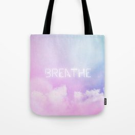 Breathe - candy sky Tote Bag