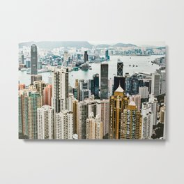 Harbour Section Metal Print
