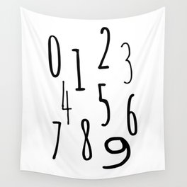 Numbers Wall Tapestry