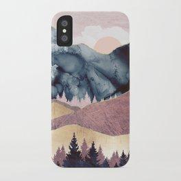 Mauve Vista iPhone Case