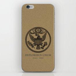 deploribus (deplorables) unum iPhone Skin