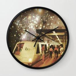 Enter the night  Wall Clock