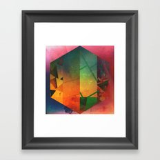 8 hyx Framed Art Print