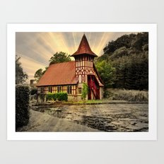 Rickford Hall Art Print