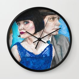 Phryne & Jack Wall Clock