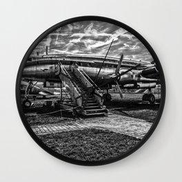 Lockheed L1049 G Super Constellation Wall Clock