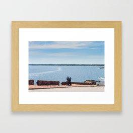 Punta del Este Framed Art Print