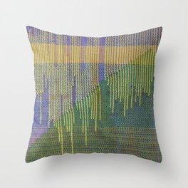 woven pillow Throw Pillow