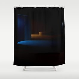 Student city in Oly № VII | early 2017 revision Shower Curtain