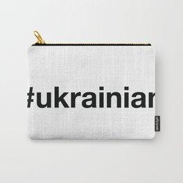 UKRAINIAN Hashtag Carry-All Pouch
