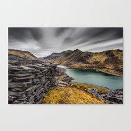 Snowdon Moutain Range Canvas Print
