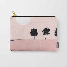 Pink Sunny Field II Carry-All Pouch