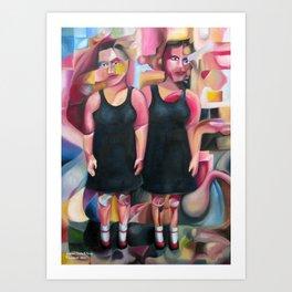 Dresses, Socks And Shoes  2013 Art Print