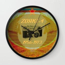 Zorki 4 Wall Clock