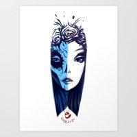 Dos Caras Art Print
