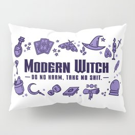 Modern Witch Do No Harm Pillow Sham