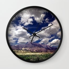 Across Utah Wall Clock