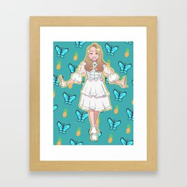 gowon Framed Art Print