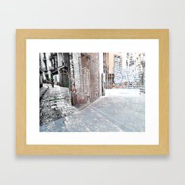 Force the corners, and horn in on the commotion, 5 Framed Art Print