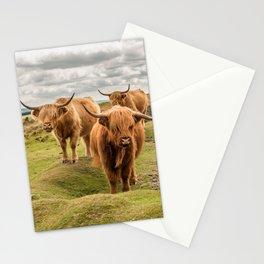 Three Highlanders Stationery Cards