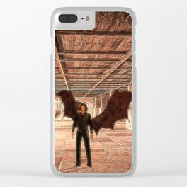The Vampire Abode Clear iPhone Case