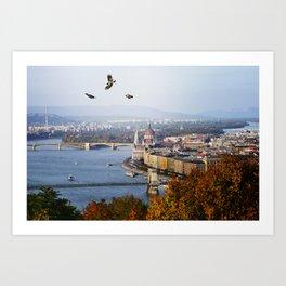 Budapest, Hungary. Art Print