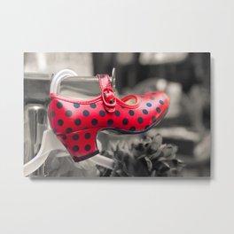 Flamenco shoes Metal Print