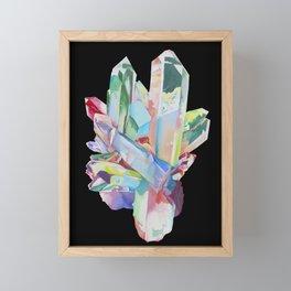 Aqua Aura Framed Mini Art Print