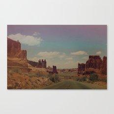 Utah Exploring Canvas Print