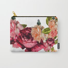 Old fashioned roses Carry-All Pouch