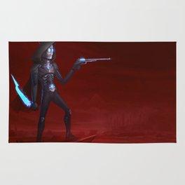 Martian Wasteland Gunslinger Rug