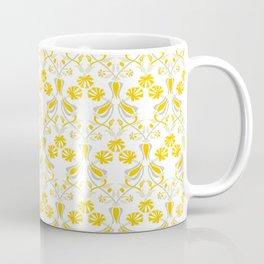 Tulip And Carnation-Yellow Coffee Mug