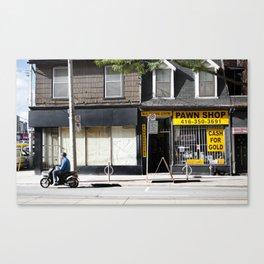 Pawn Shop Canvas Print