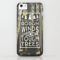 TOUGH TREES iPhone 5c Slim Case