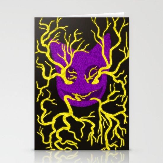 GhostKat Tree Eyes Stationery Cards