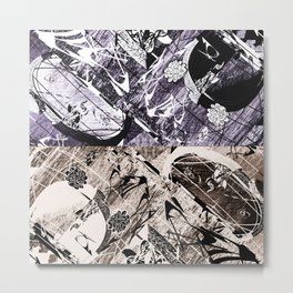 Cray v Z Metal Print