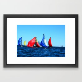 Every Which Way Framed Art Print
