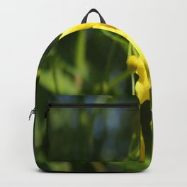 Carolina Jasmine Single Bloom In Sunlight Backpack
