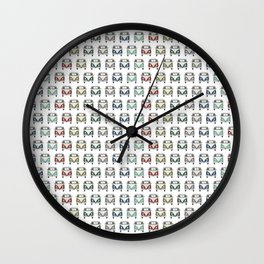 gotta love old skool cool classic cars Wall Clock