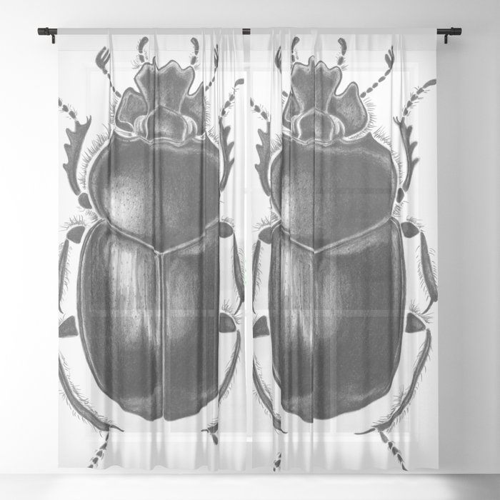 Beetle 13 Sheer Curtain