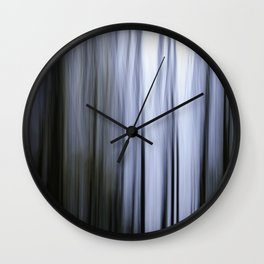 Trees of Blue Wall Clock
