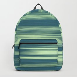 Abstraction Serenity in Afternoon at Sea Backpack