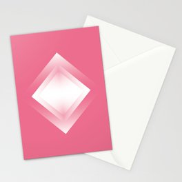 pink energy vibration Stationery Cards