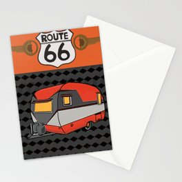Route 66 Classic Living Stationery Cards