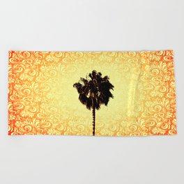 Palm Tree Beach Towel