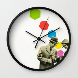 Look What I Brought! Wall Clock
