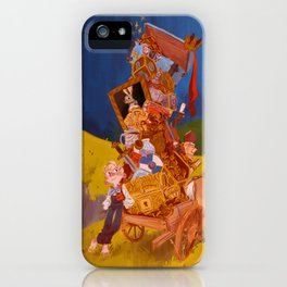 The Ashlad and the Troll's Treasure iPhone Case